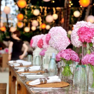 Algunas ideas para la decoración de bodas